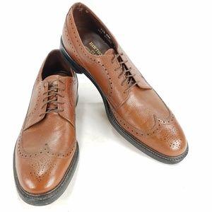 Hawthorne Classics Mens Brogue Oxford Derby Shoes